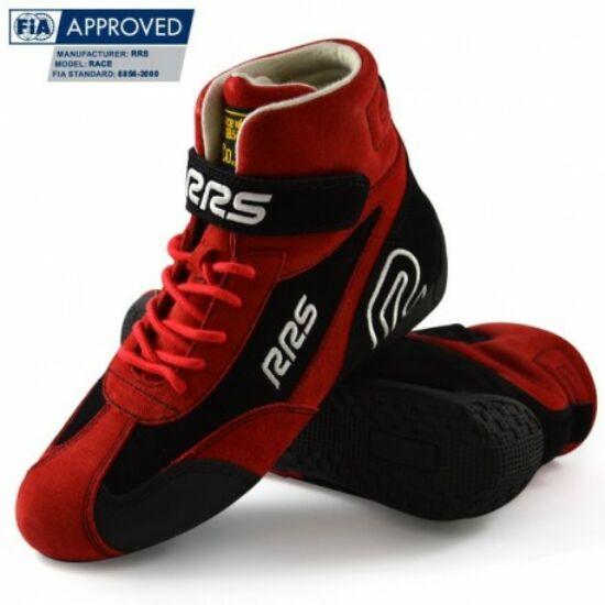 RRS FIA homológ versenycipő(piros)