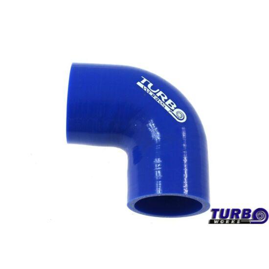TurboWorks redukciós könyök 90° (63-76mm)