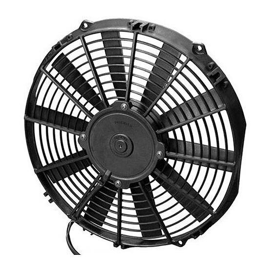 Spal ventilátor,280mm/12v, szívó