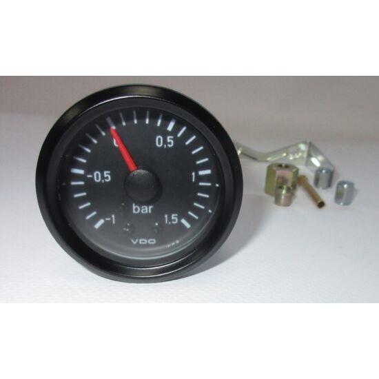 VDO töltőnyomásmérő (-1,0 - +1,5bar)