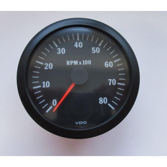 VDO fordulatszámmérő,(Ø 100 mm)
