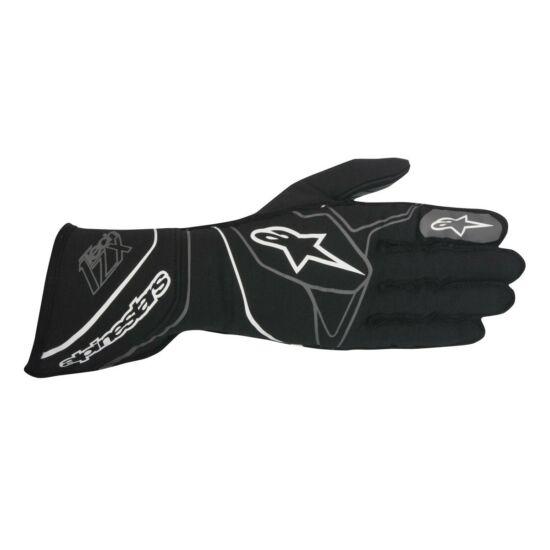 Alpinestars Tech1-ZX homológ kesztyű(fekete/fehér)