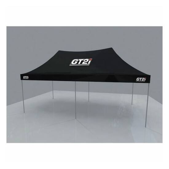 GT2i 6x3m szervizsátor